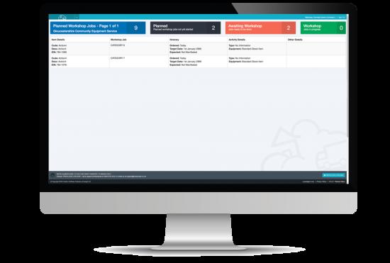 workshop screenshot on desktop computer