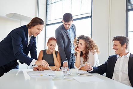 brainstorming business meeting
