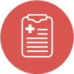 medical notepad icon