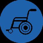 wheelchair services icon