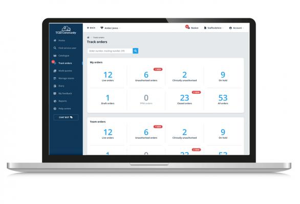 activity management screenshot on laptop