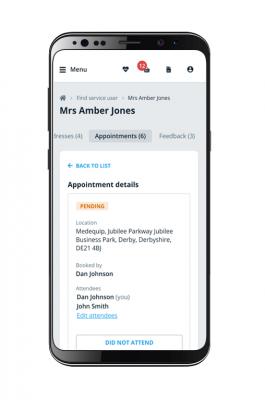 TCES Mobile app screenshot