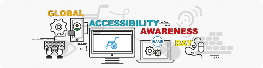 global accessibility awareness day illustration