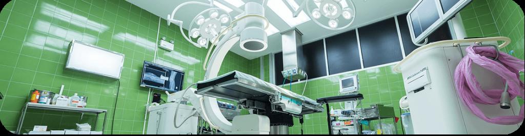 operating theatre scene