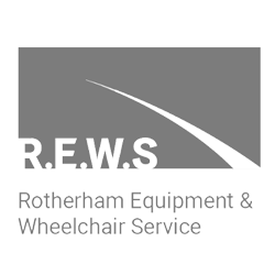 rotherham equipment wheelchair services logo