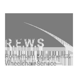 rotherham equipment wheelchair services logo