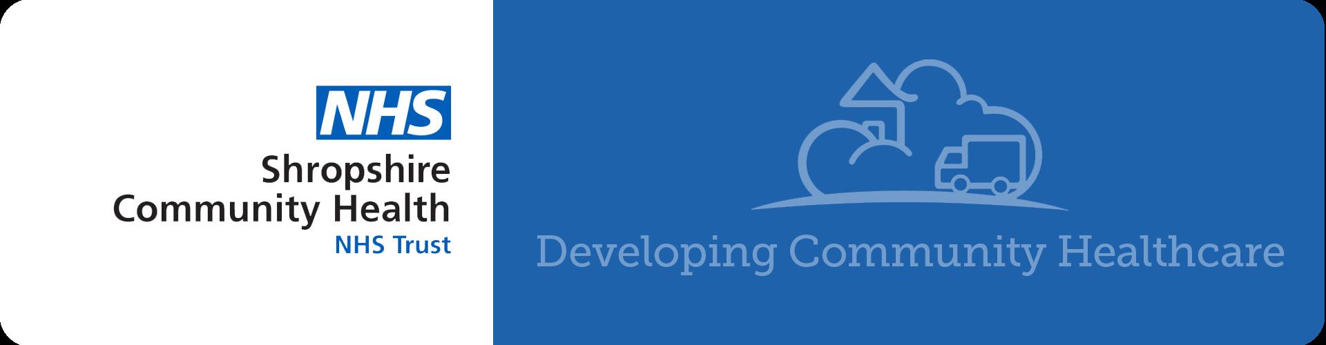 nhs shropshire community health logo