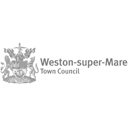 weston super mare town council logo
