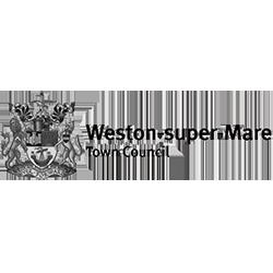 weston super mare town council logo