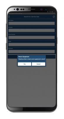 mobile screenshot of TCES Community