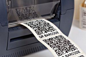 qr codes labels